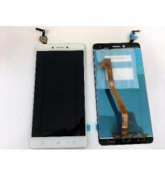 Lenovo K6 Note pantalla lcd + tactil blanco original