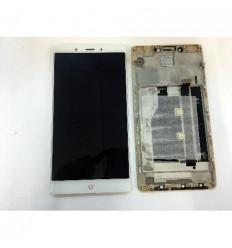 ZTE Nubia Z11 Max NX523J pantalla lcd + tactil blanco + marc