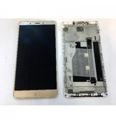 ZTE Nubia Z11 Max NX523J pantalla lcd + tactil dorado + marc