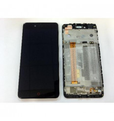 ZTE Nubia Z11 MiniS NX549J pantalla lcd + tactil negro + mar