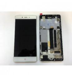 ZTE Nubia Z11 NX531J pantalla lcd + tactil blanco + marco pl