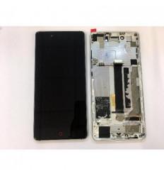 ZTE Nubia Z11 NX531J pantalla lcd + tactil negro + marco pla