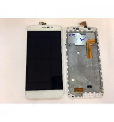 Zopo Speed 7 ZP550 pantalla lcd + tactil blanco + marco orig