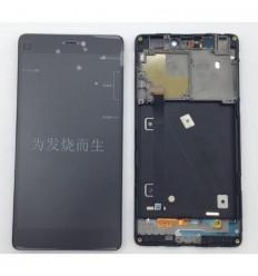 Xiaomi MI4I MI 4I M4I pantalla lcd + tactil negro + marco or