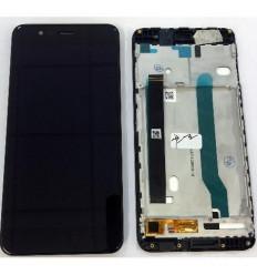 Asus Zenfone 3 Max ZC520TL pantalla lcd + tactil negro + mar