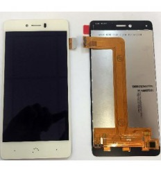 BQ Aquaris U Plus pantalla lcd + tactil blanco original