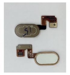 Meizu Meilan Note 3 flex boton home dorado original