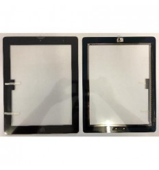 iPad 3 black touch screen with complete home button with adh