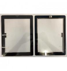 iPad 3 pantalla tactil negro + Botón Home + flex home + adhe