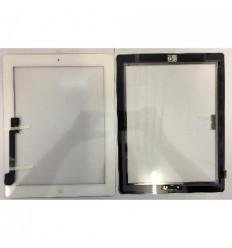 iPad 3 pantalla tactil blanco + Botón Home + flex home + adh