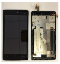 Acer Liquid Z150 Z5 pantalla lcd + tactil negro + marco orig