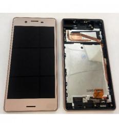Sony Xperia X F5121 pantalla lcd + tactil rosa + marco origi