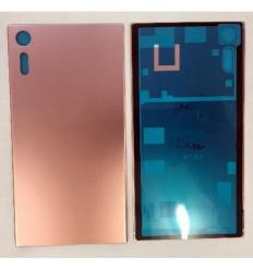 Sony Xperia XZ F8331 F8332 tapa bateria rosa