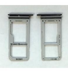 Samsung Galaxy S8 G950F soporte sim y sd negro original