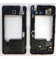 Huawei Ascend G510 Daytona carcasa intermedia negra original