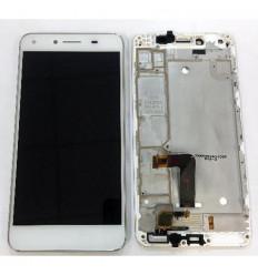 "Huawei Y5 II CUN-L01, Honor 5A 5"" pantalla lcd + tactil blanco + marco original"