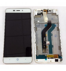 Zte Blade x3 original display lcd with white touch screen with frame