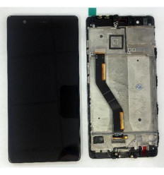 Huawei Ascend P9 plus pantalla lcd + tactil negro + marco or