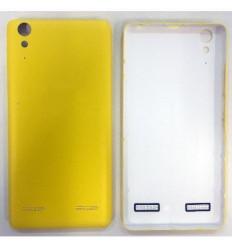 Lenovo K3 A6000 tapa bateria amarilla