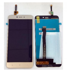 Xiaomi Redmi 4X original display lcd with gold touch screen