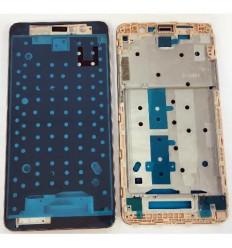 Xiaomi Red Mi Note 3 carcasa central dorada original