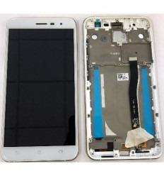 Asus Zenfone 3 ZE552KL pantalla lcd + tactil blanco + marco