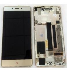 ZTE Nubia Z11 NX531J original display lcd with gold touch sc