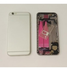 IPhone 6S carcasa completa marco + tapa blanco original