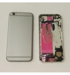 IPhone 6S carcasa completa marco + tapa negro