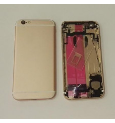 IPhone 6S carcasa completa marco + tapa rosa original