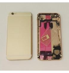 IPhone 6S carcasa completa marco + tapa dorada original