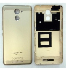 Bq Aquaris U Plus tapa bateria dorada