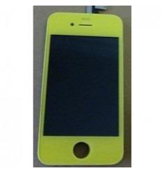 iPhone 4S lcd completo amarillo