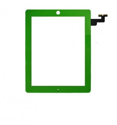 iPad 2 Green touch screen