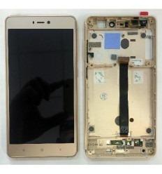 Xiaomi Mi4S Mi 4S pantalla lcd + tactil dorado + marco origi