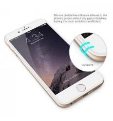 iPhone 7 protector cristal templado transparente 3D Curvo