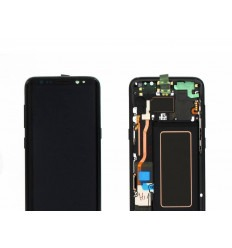 SAMSUNG GH97-20457A GALAXY S8 G950F PANTALLA LCD + TÁCTIL NEGRO ORIGINAL