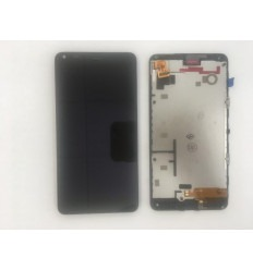 NOKIA LUMIA 640 MICROSOFT PANTALLA LCD + TÁCTIL NEGRO + MARCO ORIGINAL