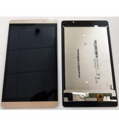 HUAWEI MEDIAPAD M2 PANTALLA LCD + TACTIL DORADO ORIGINAL