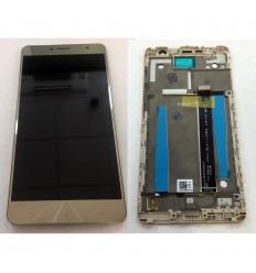 ASUS ZENFONE 3 DELUXE 5.5 ZS550KL PANTALLA LCD + TACTIL DORADO + MARCO ORIGINAL