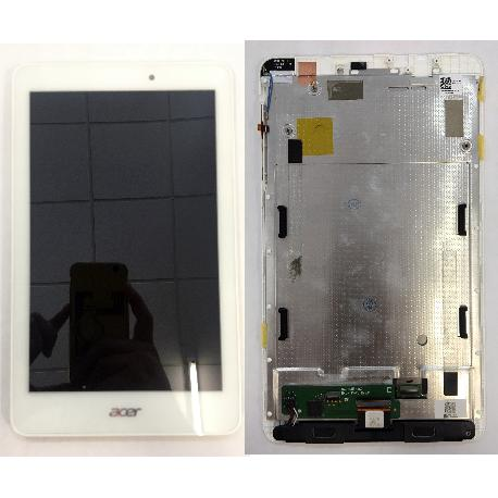 ACER ICONIA ONE 8 B1-810 PANTALLA LCD + TACTIL BLANCO ORIGINAL