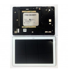 Asus ZenPad 10 Z300C P023 Z300M P00C original display lcd with white touch screen with frame
