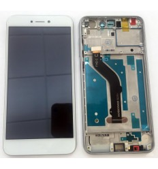 Huawei P8 Lite 2017 original display lcd with white touch screen with frame