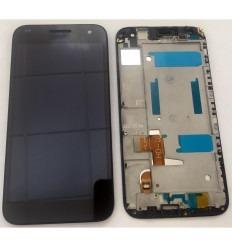 HUAWEI ASCEND G7 C199 PANTALLA LCD + TÁCTIL NEGRO + MARCO ORIGINAL