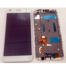 Huawei Ascend G7 c199 original display lcd with white touch screen with frame
