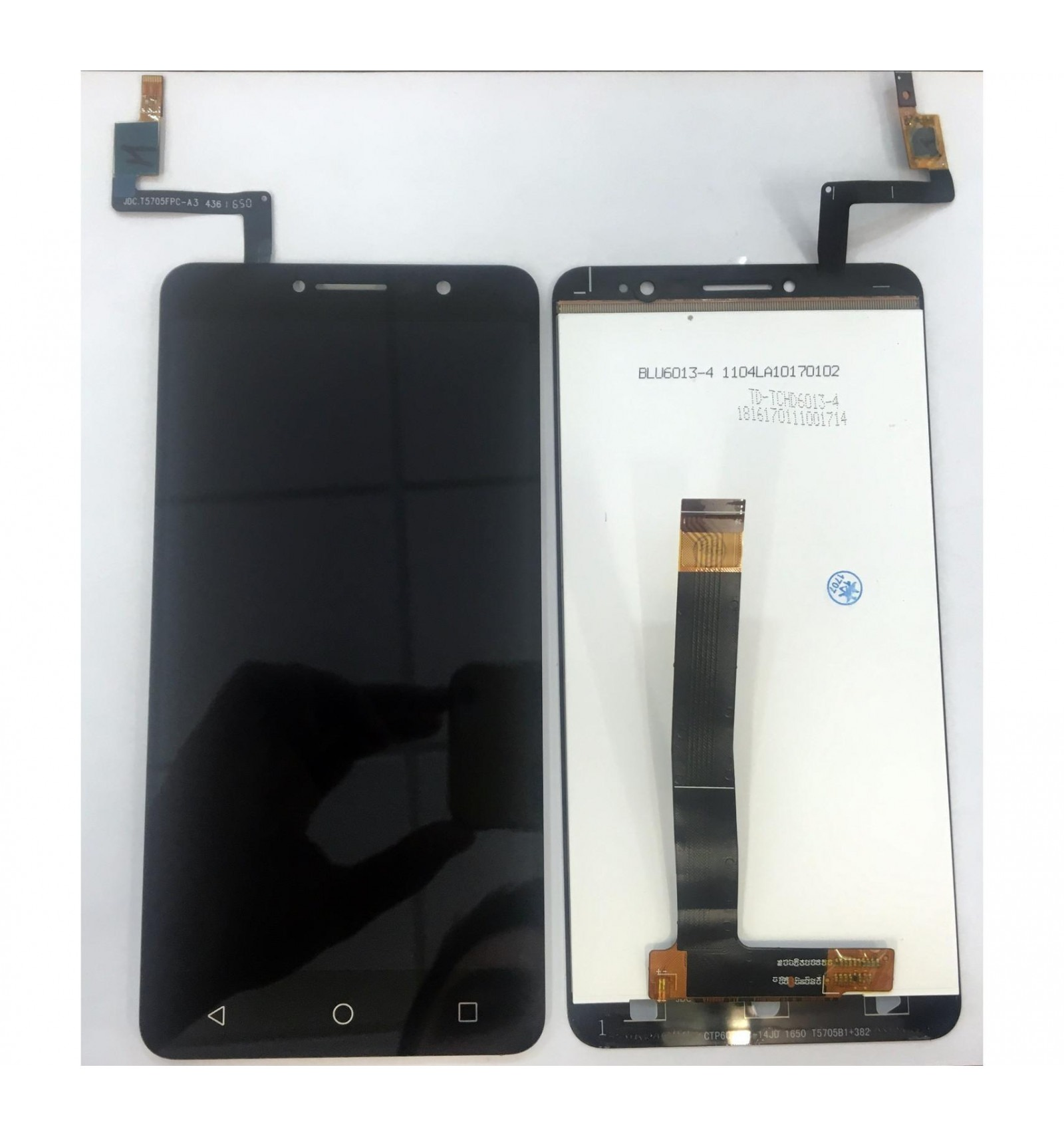 alcatel a3 xl 9008d 9008x original display lcd with black touch screen. Black Bedroom Furniture Sets. Home Design Ideas