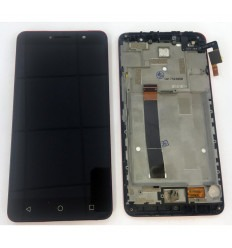 Alcatel A3 XL 9008D 9008X original display lcd with black touch screen with frame