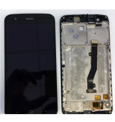 ZTE BLADE V8 LITE PANTALLA LCD + TACTIL NEGRO + MARCO ORIGINAL