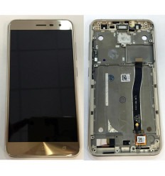 ASUS ZENFONE 3 ZE552KL PANTALLA LCD + TACTIL DORADO + MARCO ORIGINAL