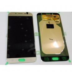 Samsung GH97-20736C J730 Galaxy J7 2017 pantalla lcd + táctil dorado original